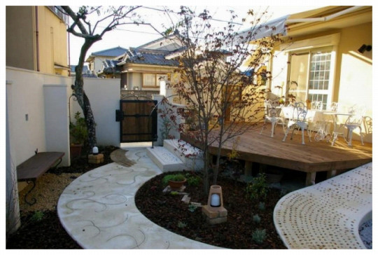 庭志から庭師へ-宇治市H邸の庭2